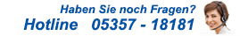 Telefon-Hotline - 05357 18172